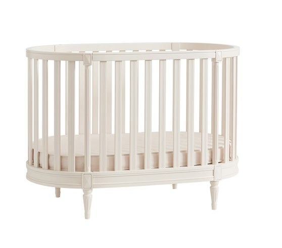 Blythe Oval Crib Pbkids Oval Crib Toddler Bed Baby Furniture