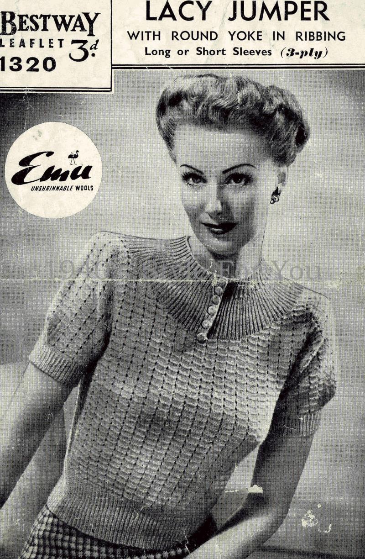 Bestway 1320 free - PDF.pdf #free #knitting #pattern #vintage ...