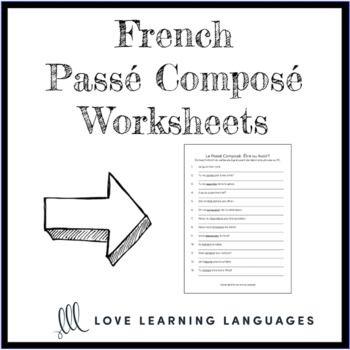 Pass Compos Tre Ou Avoir French Grammar Quiz Or Worksheet
