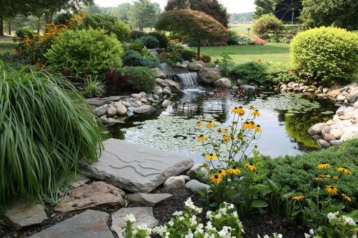 Gartenteich Bilder Beispiele. die besten 25+ teichanlagen ideen ...