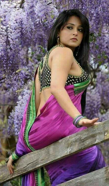 Largest Gallery Of Anushka Shettys Hot Saree Images