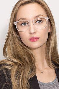 9d1143b022e RHODE ISLAND M - Matte Clear Eyeglass Frames  3 LOVE IT