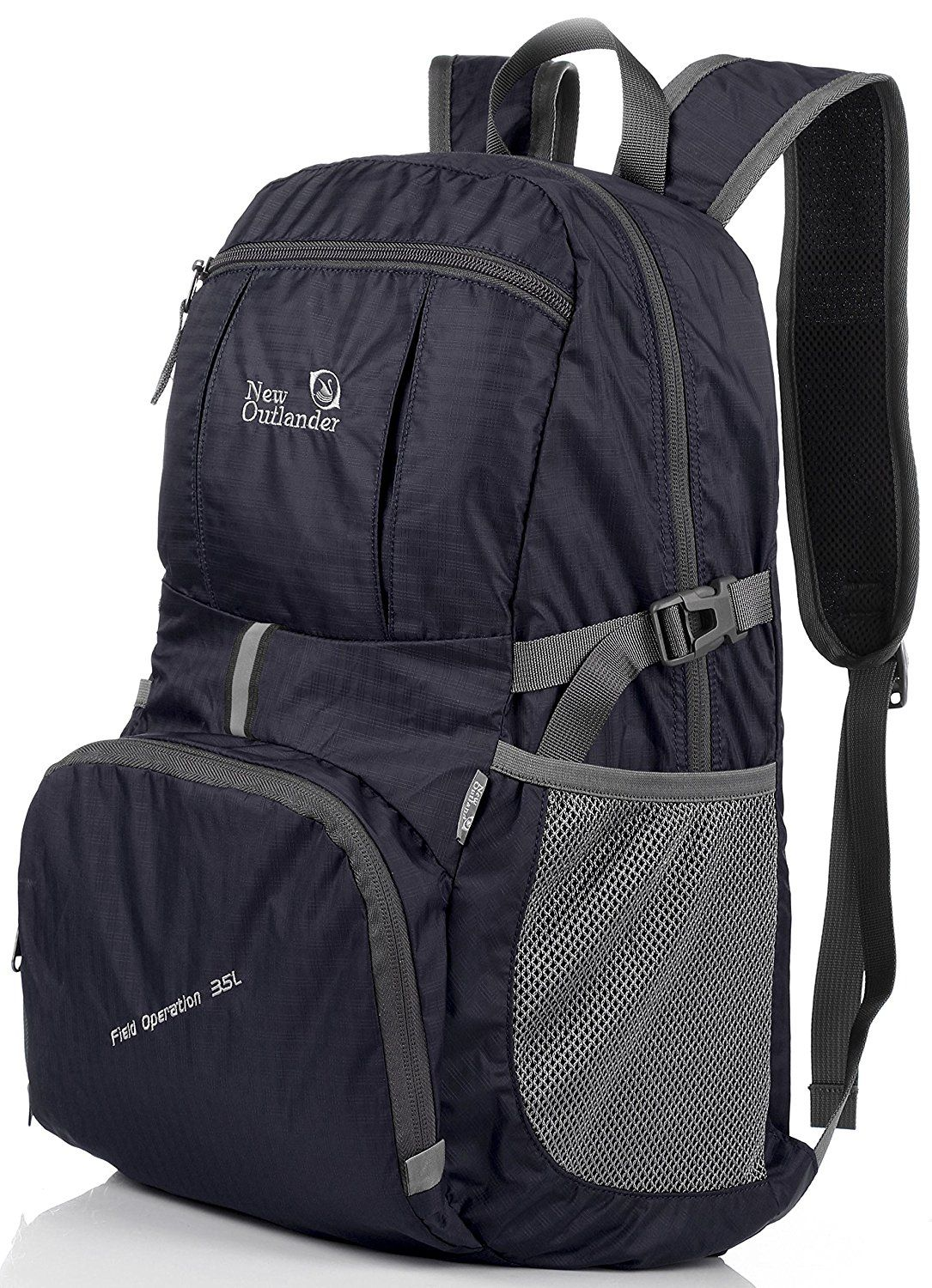 8f71748cf1 Outlander Packable Lightweight Travel Hiking Backpack Daypack (New Black)