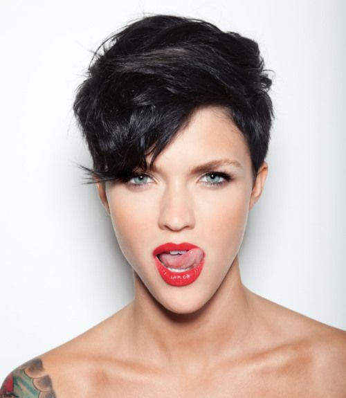 Heart Shaped Faces Tend To Look Best In Pixie Cuts That Are A Bit