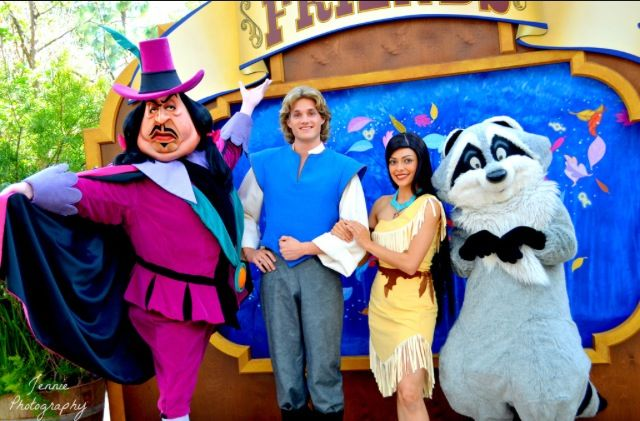 HD Pocahontas Characters  Disneyland Long Lost Friends Week  Rare Characters