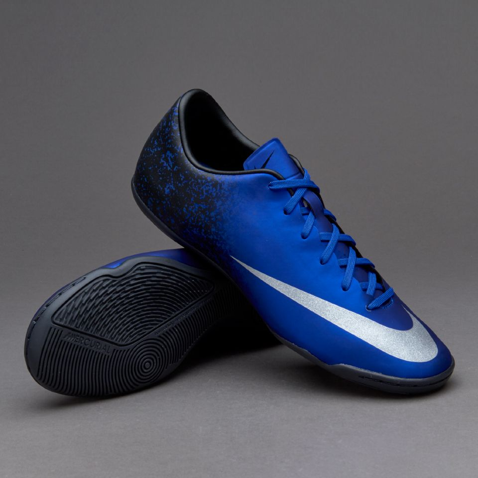 445cddf23 Nike Mercurial Victory V CR IC - Deep Royal Blue Metallic Silver Racer Blue