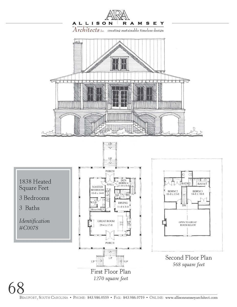 Mayfair Cottage - Allison Ramsey Architects - House Plans in All ...