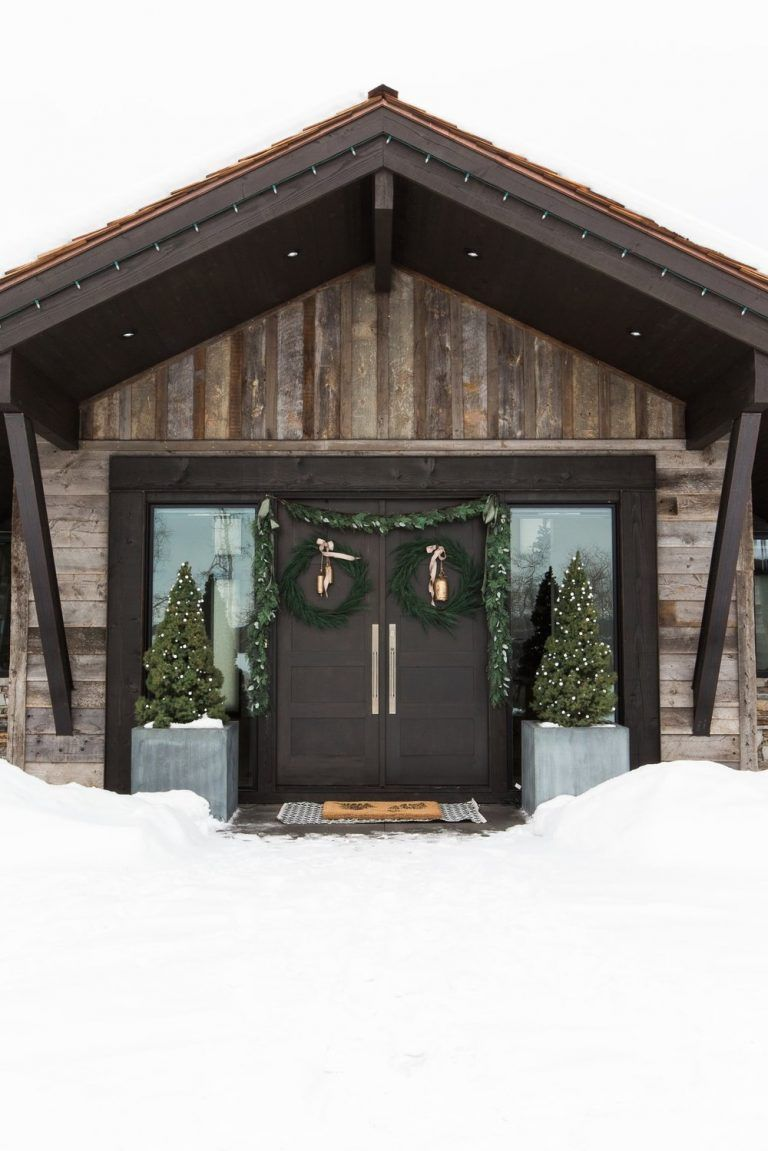 Holiday Home Tour: A Modern Mountain Home #mountainhomes