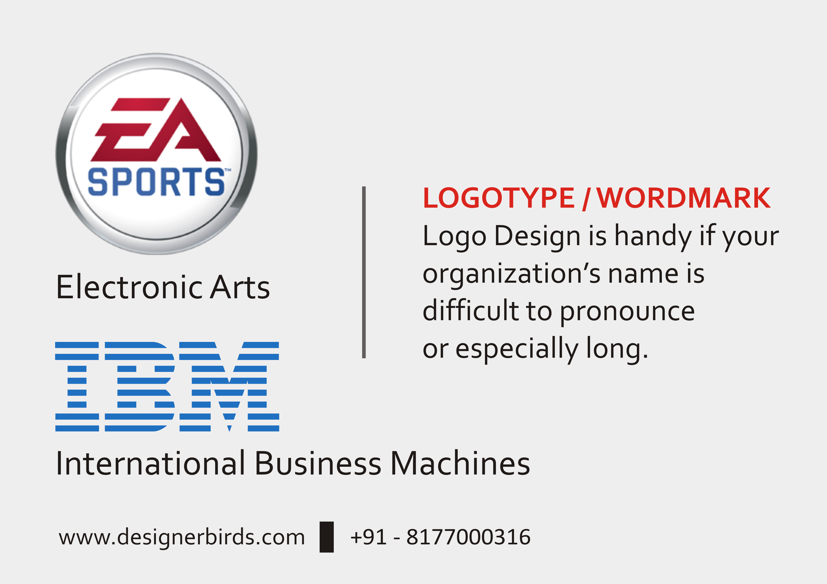 Logotype Wordmark Design Is Handy If Your Organization S Name Is Difficult To Pronounce Or Especially Word Mark Logo Wordmark Logo Design Logo Design