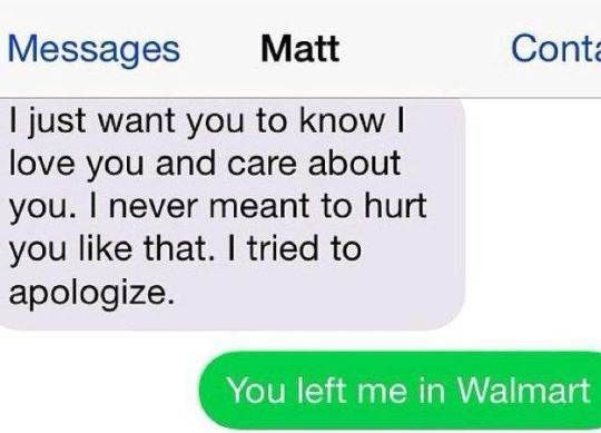Sweet text to send your ex girlfriend