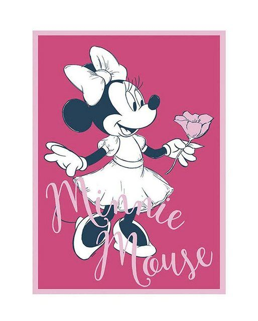 Poster »Minnie Mouse Girlie«, Figur, Minnie Mouse