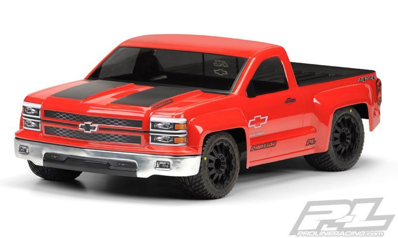Chevy Silverado PRO-Touring Clear Body for SC Trucks
