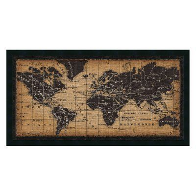 Amani Art Old World Map By Pela Studio Black Dsw3909705 Old