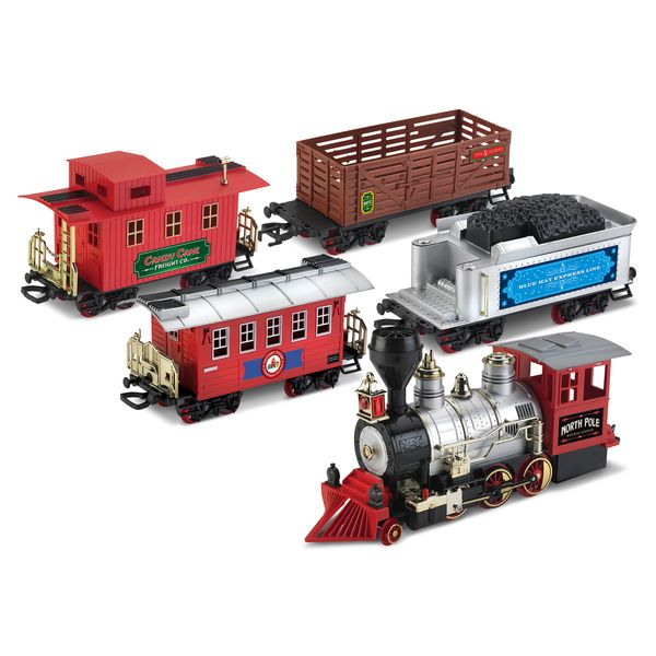 Blue Hat North Pole Junction Christmas Train Set by Blue Hat ...