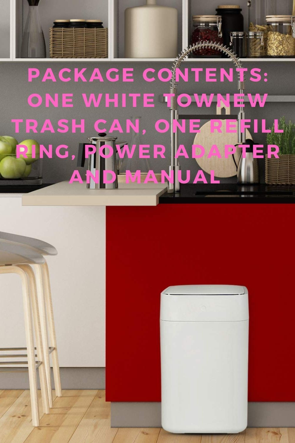 Townew Official Biodegradable Refill Rings For Smart Kitchen In 2020 Biodegradable Products Trash Can Smart Kitchen