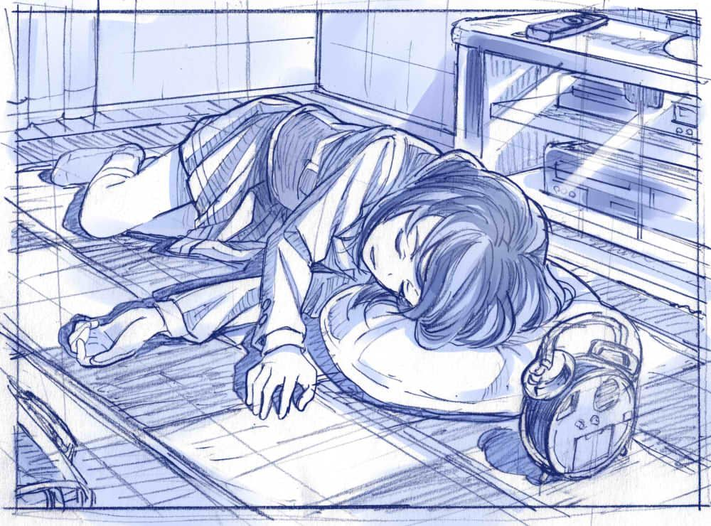 寝ポーズ練習さきの新月のイラスト Pixiv 資料 イラスト
