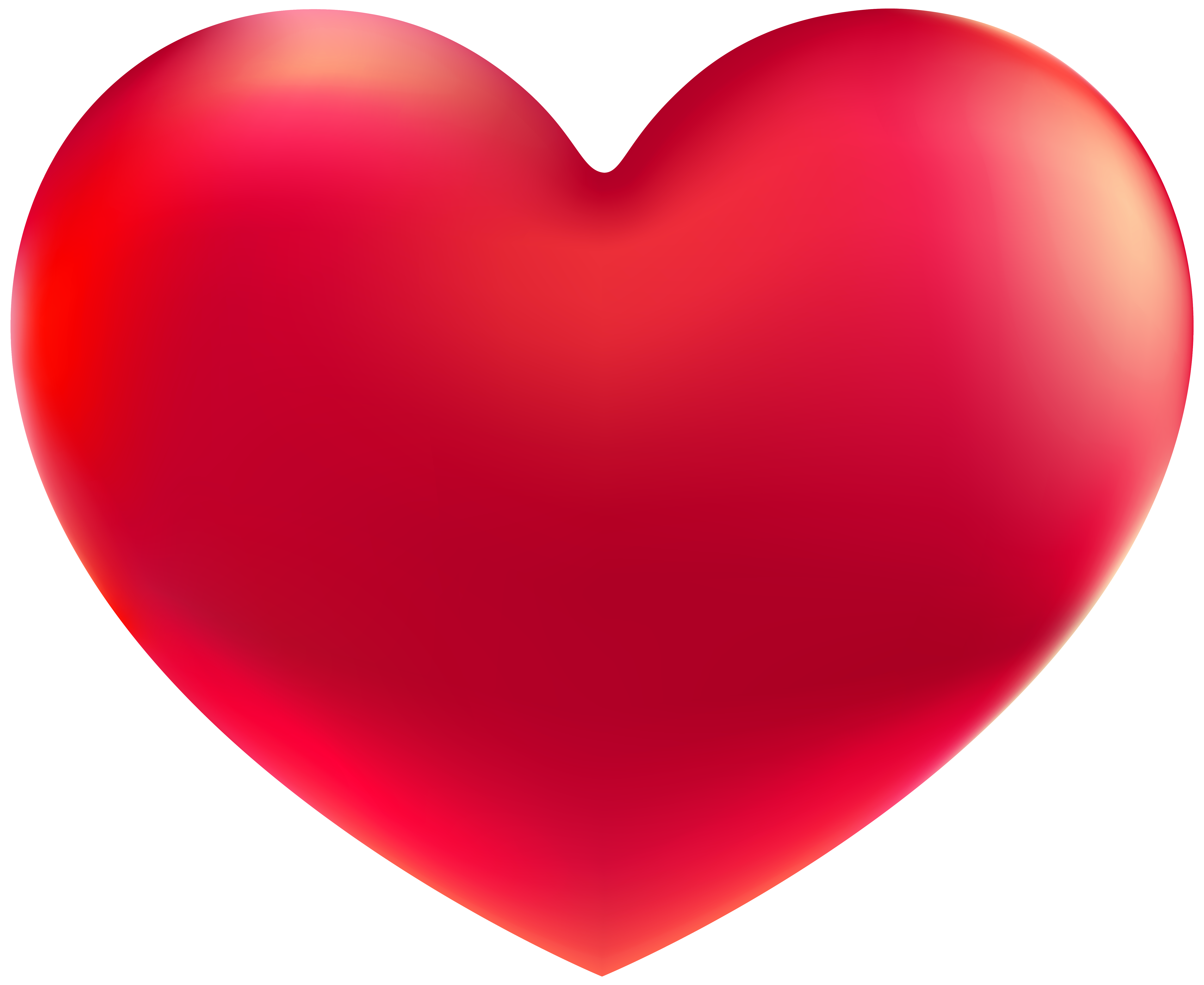 Red Heart Png Clipart Image Clip Art Red Heart Free Clip Art