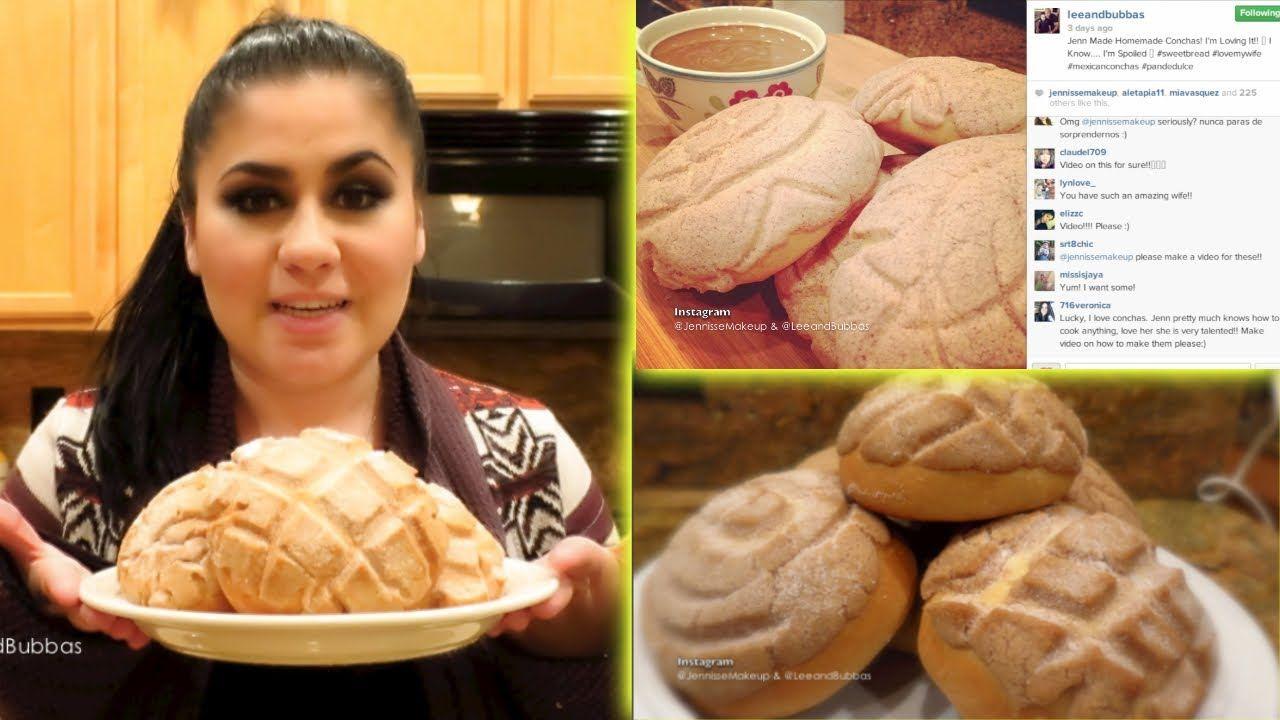 Conchas Recipe ✿ Pan De Dulce