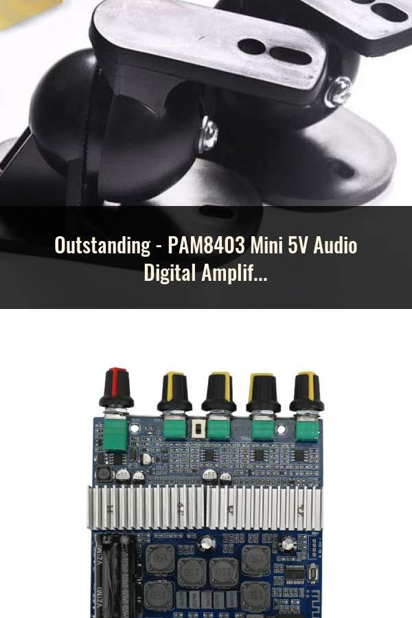 PAM8403 Mini 5V Audio Digital Amplifier Board Switch Potentiometer