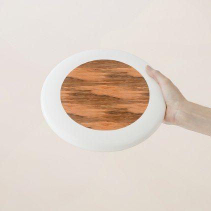 #wood - #Natural Eucalyptus Wood Grain Look Wham-O Frisbee