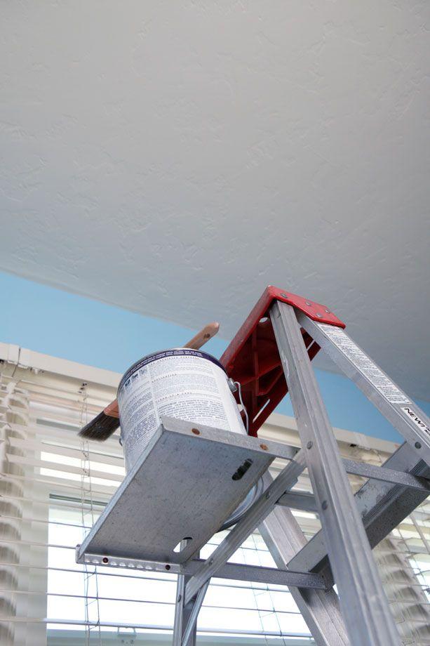 Trucs Pour Peindre Un Plafond Décormag Poutres Et Plafonds - Truc pour peinturer un plafond