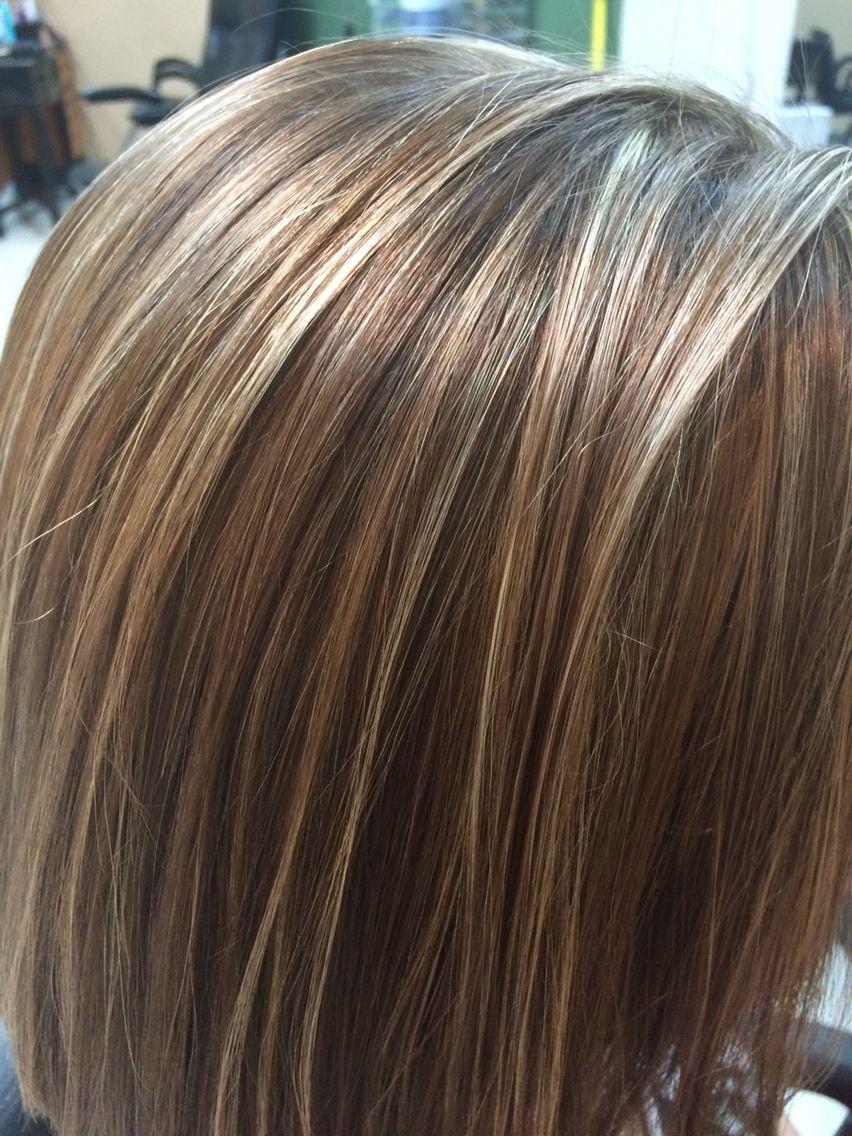 highlights lowlights hair color