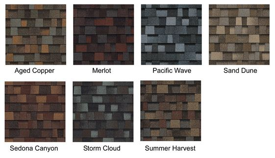 Vinyl Siding Color Chart Owenscorning Duration Designer