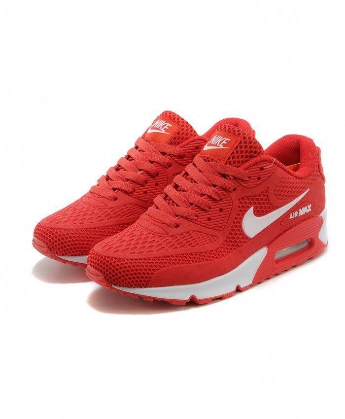 Nike Air Max 90 Red Mens Trainers #WomenSFashionOver50Blog