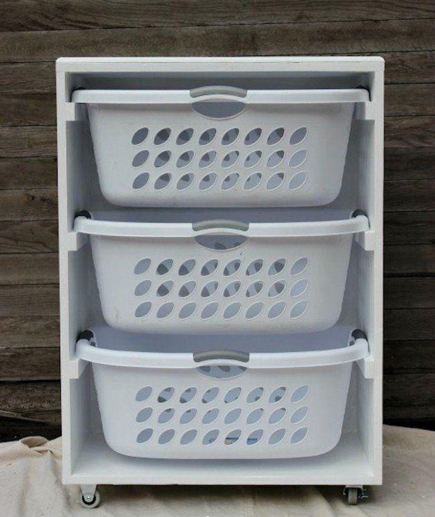 Sehr Praktische Diy Ideen Um Die Wäsche Zu Ordnen Diy Bastelideen