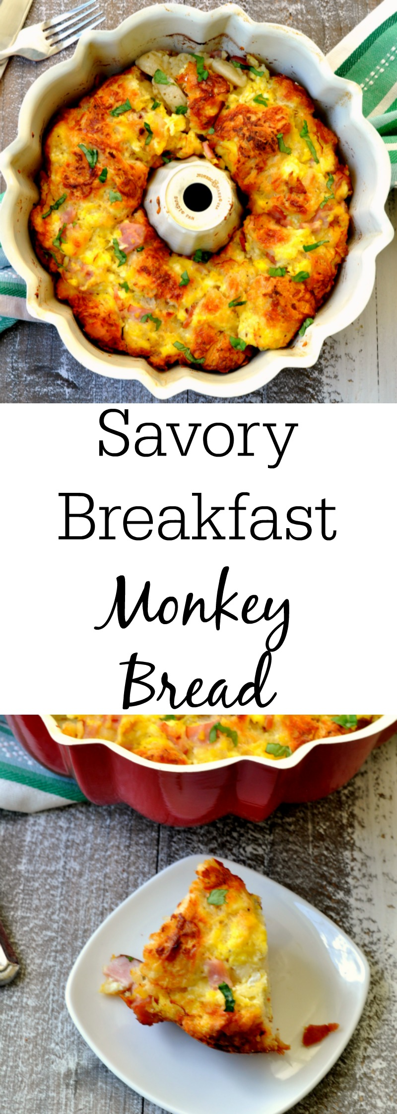 Savory Breakfast Monkey Bread - Make Monkey Bread With Biscuits Hack