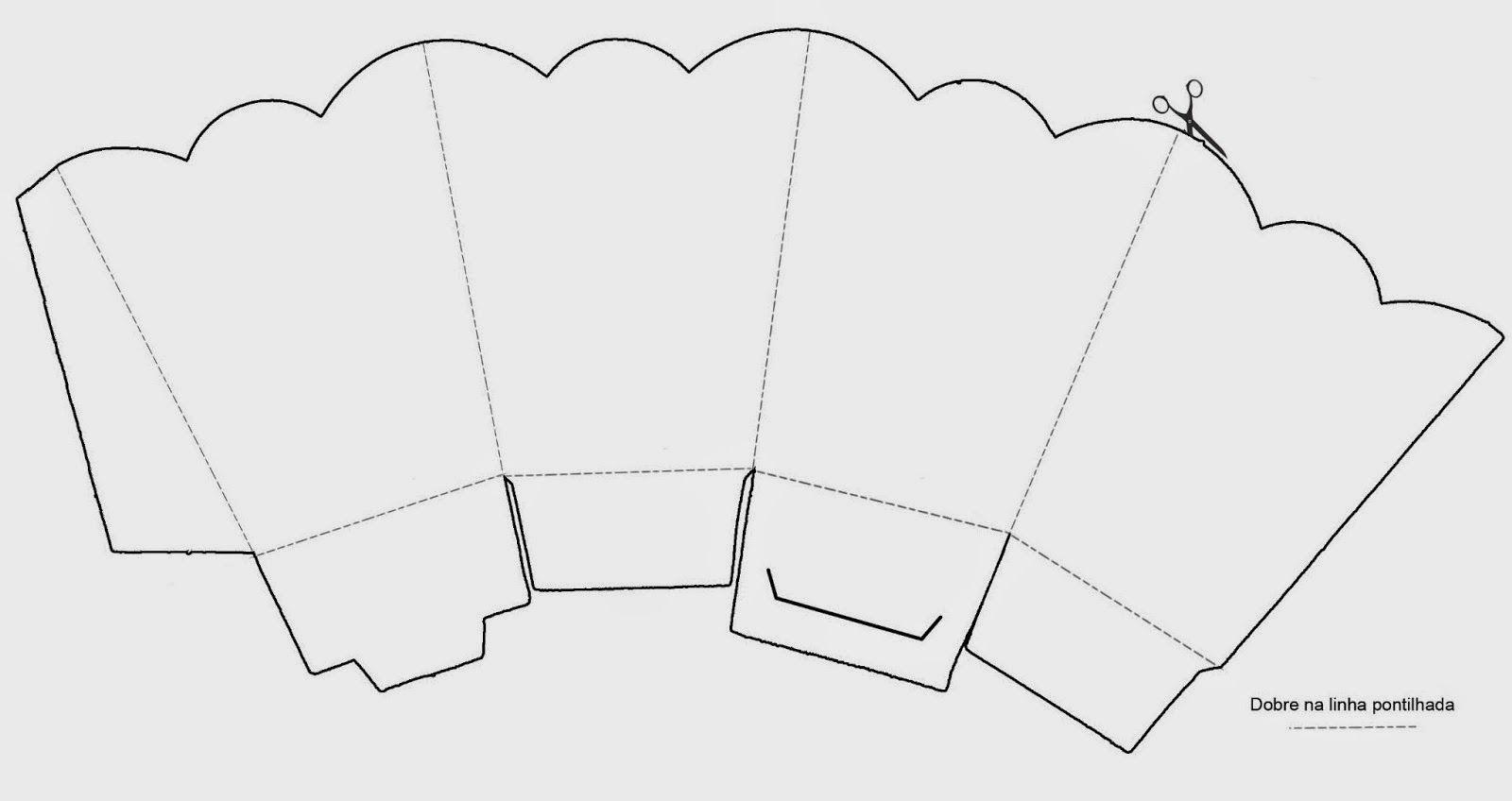 May Day Baskets Printable Patterns