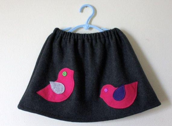 Bird Skirt, I am crafty enough to make this!