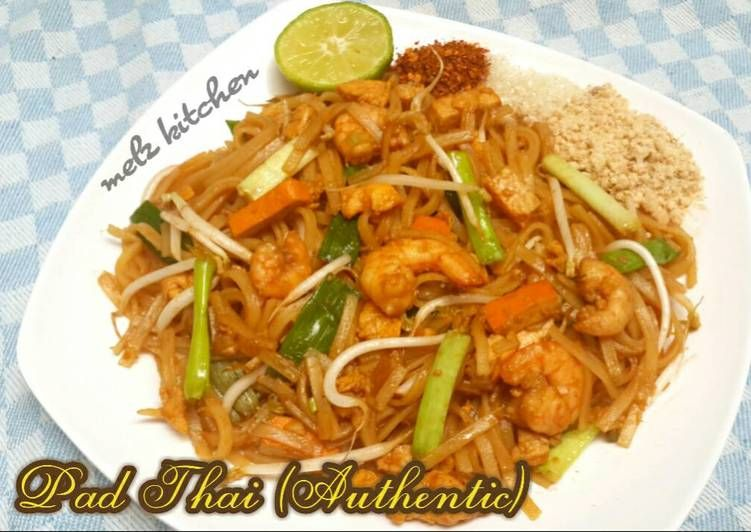 Resep Pad Thai Authentic Oleh Melz Kitchen Resep Resep Masakan Resep Makanan Enak