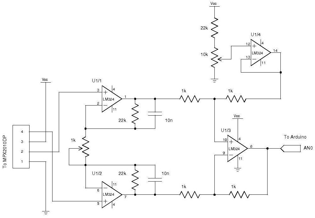 Arduino Pressure Sensor Wiring Diagram - Free Download Wiring Diagram