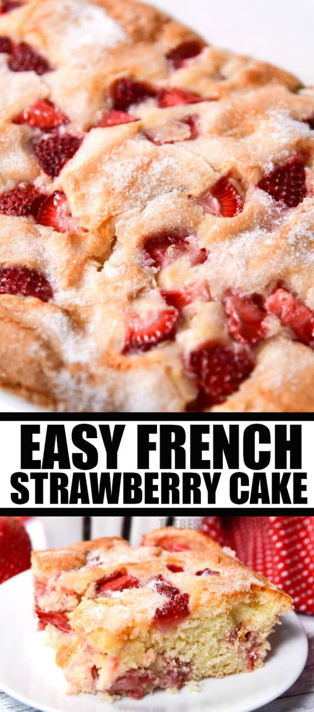 How to Make French Strawberry Cake