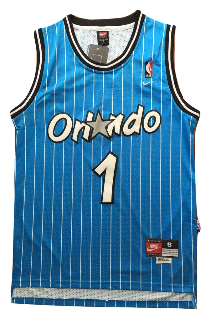 358a22806 Penny Hardaway Orlando Magic NBA Champion Throwback Jersey Blue Classic # 1  NWT #adidas #OrlandoMagic