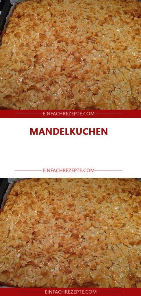 MANDELKUCHEN #leckerekuchen
