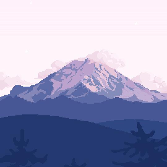 Art By Softwaring Pixel Art Landscape Pixel Art Pixel Art Background