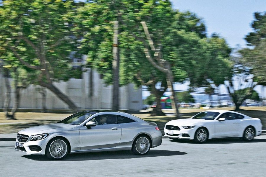 Giá Xe Mercedes C300 - 0945 777 077: MERCEDES C-CLASS COUPE 2016 ĐÃ LỘ DIỆN MẠO HOÀN TOÀN