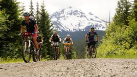 OMG this looks amazing: Mt. Hood's Cascade Huts. 137 miles of bliss. Go in August.