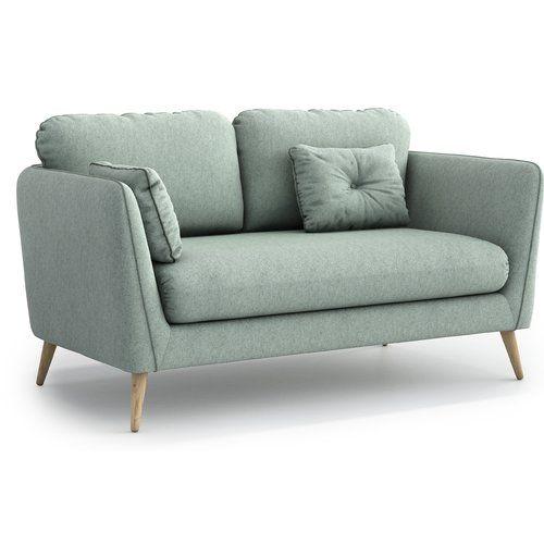 Fantastic Brayden Studio Agustin 2 Seater Sofa Tiny Lounging Areas Machost Co Dining Chair Design Ideas Machostcouk