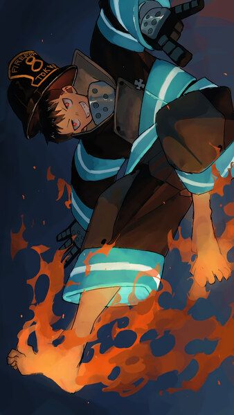 Fire Force Shinra Kusakabe 4k Hd Mobile And Desktop Wallpaper 3840x2160 1920x1080 2160x3840 1080x1920 Resolutions Shinra Kusakabe Anime Wallpaper Anime