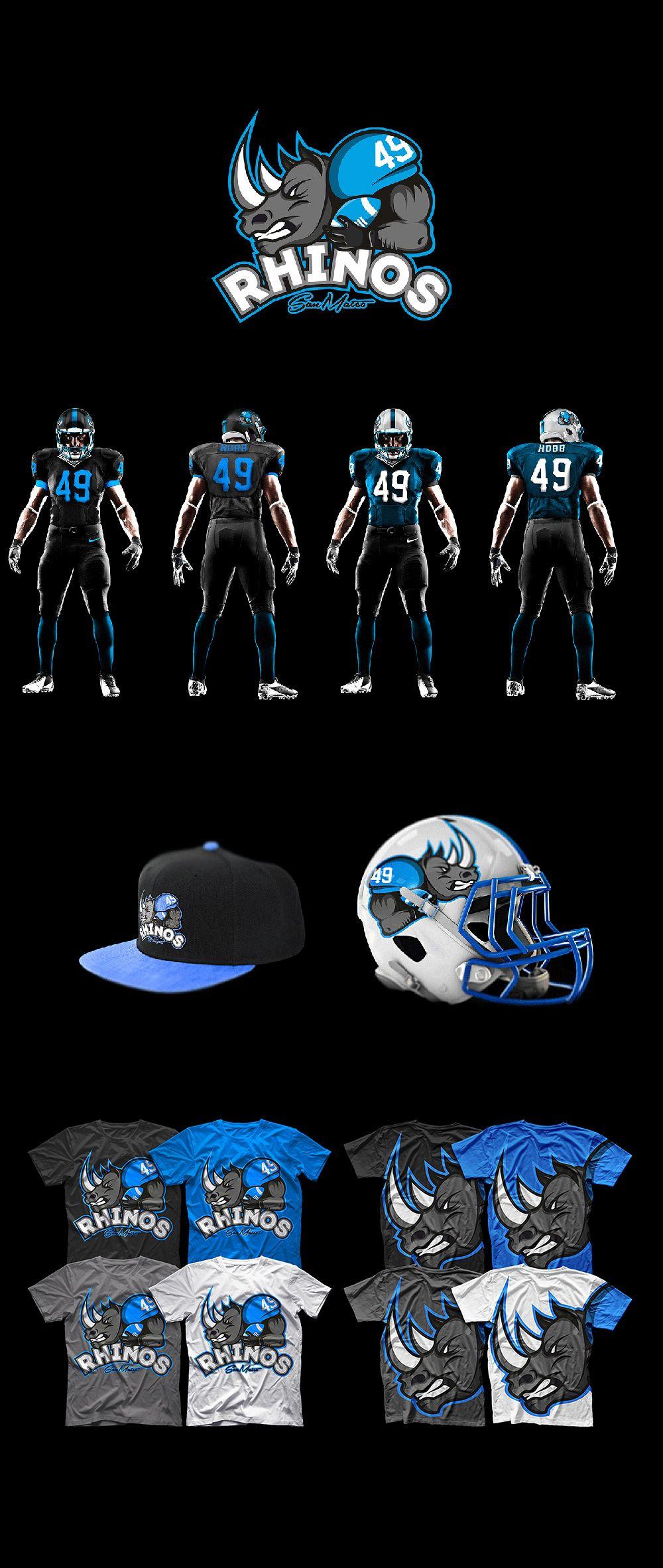 55 Amazing American Football Team Logos and Identity