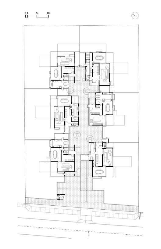San Dami 225 N Housing Estate Chauriye St 228 Ger Arquitectos