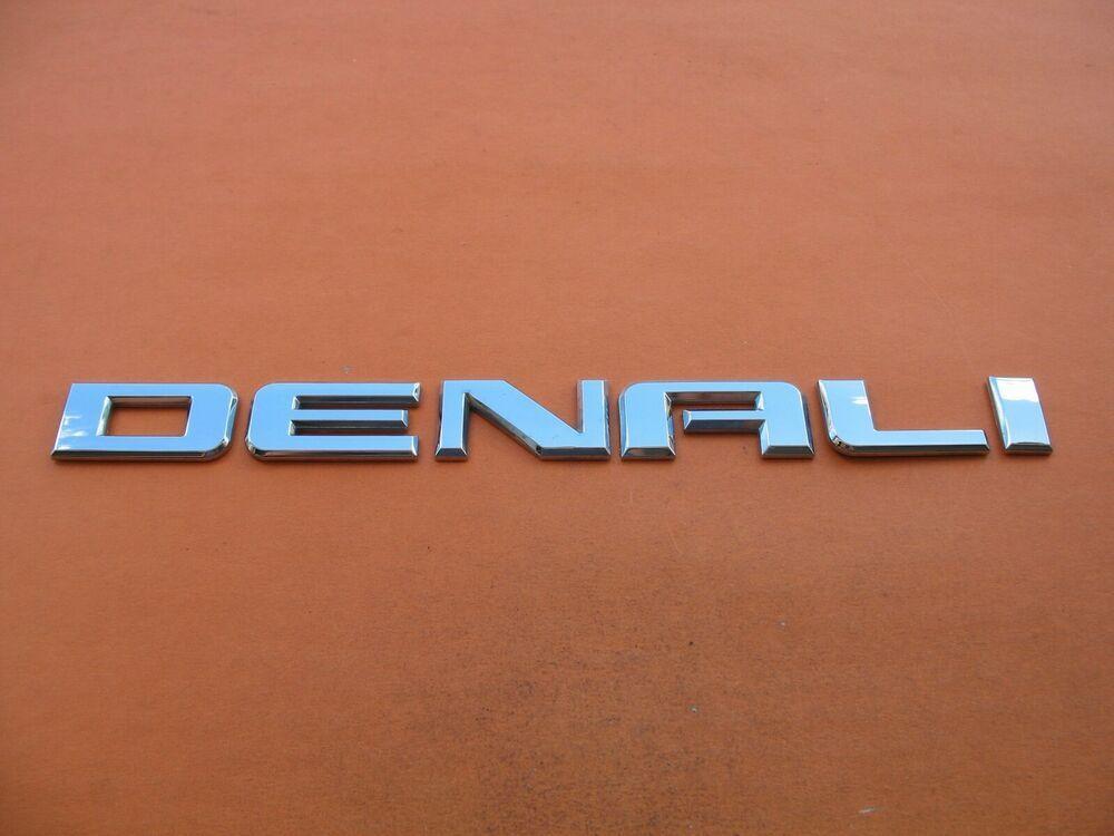 07 08 09 10 11 12 13 14 15 16 17 Gmc Yukon Denali Side Emblem Logo