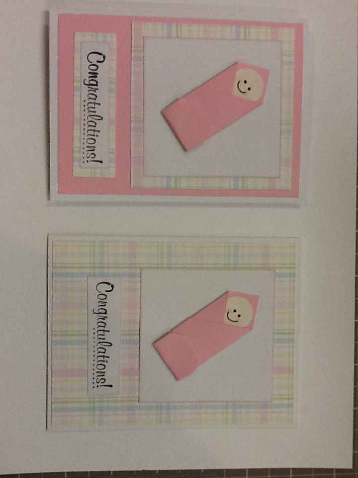 Baby cards by Michelle