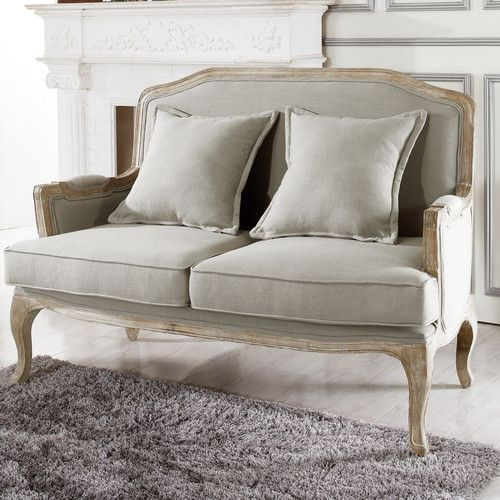 Found It At Baxton Studio Constanza Classic French Loveseat French Country Home