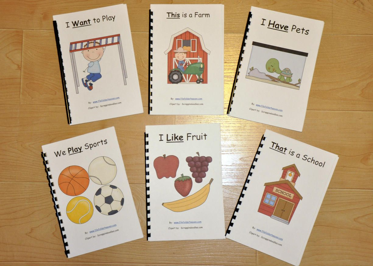 sight word adapted books | special needs | Pinterest | Autismo ...