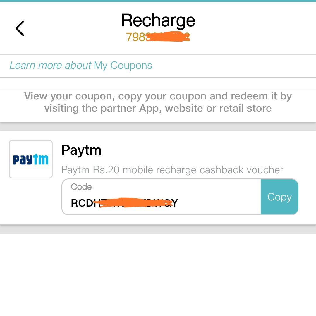 MyJio App - Get Free Paytm 20 Rs Cashback Coupon   AVJ