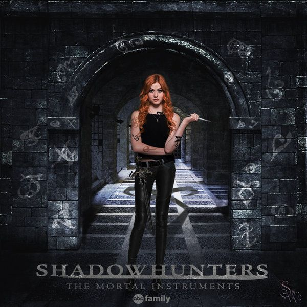 Clary Fray Shadowhunters TV Show Poster By